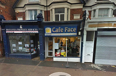 Face Coffee Shop United Kingdom